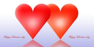 valentines дня счастливые Стоковое фото RF