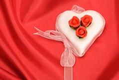valentines дня торта Стоковая Фотография RF