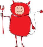 valentines иллюстрации дьявола дня Стоковые Изображения RF