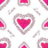 valentines картины дня безшовные Стоковое Фото