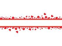 valentines карточки Стоковые Изображения