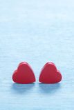 valentines красного цвета сердец предпосылки Стоковое Фото