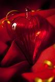 valentines красного цвета фото Харта Стоковое Изображение RF