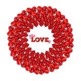 valentines дня карточки счастливые вектор Бесплатная Иллюстрация