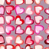 valentines дня карточки счастливые Предпосылка вектора Иллюстрация штока