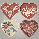 valentines дня счастливые Стоковые Изображения RF