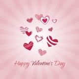 valentines дня счастливые Стоковая Фотография RF