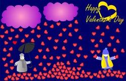 valentines дня счастливые Стоковые Изображения