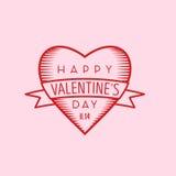 valentines дня счастливые Стоковые Фото