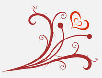valentines орнамента Стоковая Фотография RF