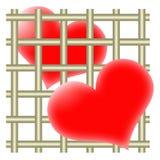 valentines открытки Стоковые Фото
