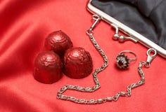 valentines подарков шоколадов Стоковая Фотография
