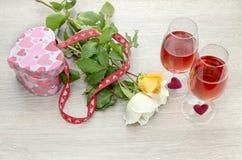 valentines праздника дня состава знамени Стоковые Изображения