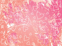 valentines предпосылки розовые Стоковое Фото