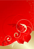 valentines предпосылки флористические Стоковая Фотография RF
