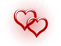 valentines предпосылки иллюстрация вектора