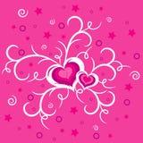 valentines предпосылки Стоковая Фотография RF