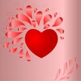 valentines предпосылки Стоковое Фото