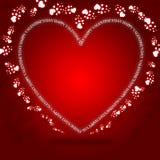 valentines приветствию дня карточки Стоковая Фотография RF