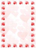 valentines рамки Стоковые Изображения RF