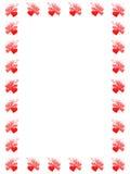 valentines рамки Стоковая Фотография