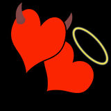 valentines сердец дня Стоковые Фото