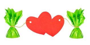 valentines сердца дня конфеты Стоковые Изображения RF