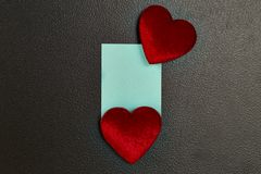 valentines сердца дня предпосылки Стоковое Фото