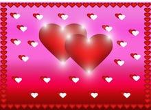 valentines сердец дня предпосылки стоковое фото rf