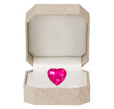 valentines сердца дня предпосылки белые Стоковые Фотографии RF