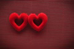 valentines сердца дня предпосылки Стоковая Фотография