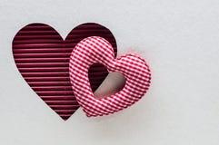 valentines сердца дня предпосылки Стоковое Изображение