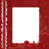 valentines цветка дня карточки Стоковое Изображение RF