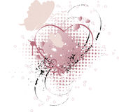 Valentines. Background. Can be used as a postcard Royalty Free Stock Photos