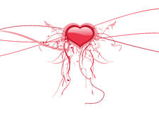 Valentines abstract background Stock Image