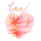 Valentines abstract heart Royalty Free Stock Photos
