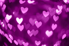 Valentines abstract heart background Stock Image