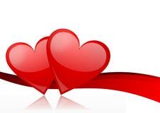 Valentines bacground Stock Photos
