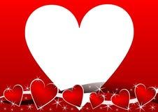 Valentines background royalty free illustration