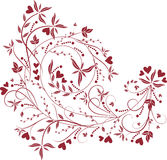 Valentines background stock illustration