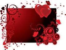 Valentines background. Can be used as a postcard Stock Image