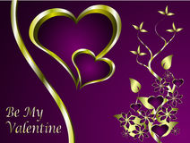 A  valentines background Stock Image