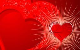 Valentines background vector illustration
