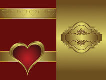 A  valentines background Royalty Free Stock Photos