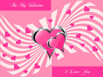 A  valentines background Royalty Free Stock Photography