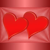 Valentines background Stock Photography