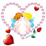 Valentines background Royalty Free Stock Images