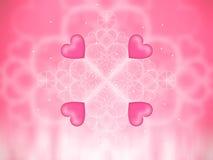 Valentines background Stock Image