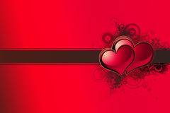 Valentines background. Love background with room for text Royalty Free Stock Images