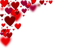 Valentine�s background Stock Photography
